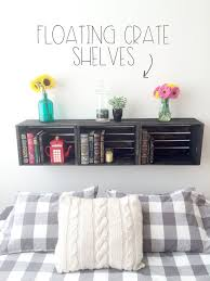 Wood Shelf Making by Best 25 Crate Shelving Ideas On Pinterest Wood Crate Shelves