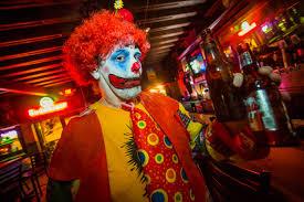 halloween horror nights clowns clown night in florida u201cjust a bunch of clowns at a bar
