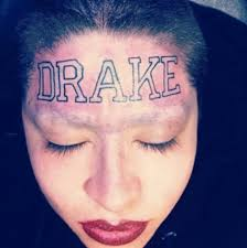 the with the drake tattoo mystery surrounds rap fan who had