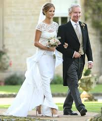 Green Dresses For Weddings Millie Mackintosh Marries Professor Green In A Dreamy Vintage Gown