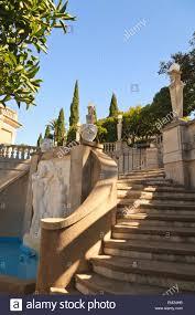 mediterranean mansion hearst castle a mediterranean style mansion atop a hill near san