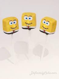 cake pops bob l u0027éponge les cake pops sont de sortie pinterest