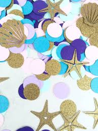Nautical Table Decorations Aliexpress Com Buy Mermaid Confetti Princess Party Decorations