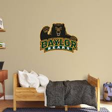 baylor bears logo wall decal shop fathead for baylor bears decor baylor bears logo fathead wall decal