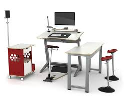 Leaning Chair Standing Desk by Focal Upright Celebrates 1st Anniversary Of The Locus Standing