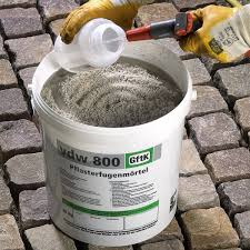 Patio Jointing Compound Gftk Vdw 800 Epoxy Paving Joint Mortar Kebur