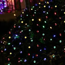 solar christmas lights multi color solar christmas light string outdoor solar store