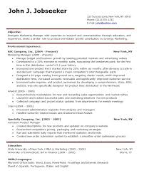 Forms Of Resume Sample by Proper Resume Format Examples Sample Resume Template Free Resume