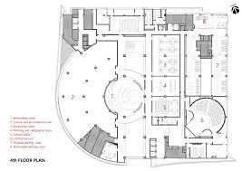 gallery of baiyunting culture and art center dushe architectural fourth floor plan