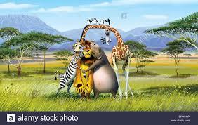 melman marty zebra alex lion gloria hippo king julien