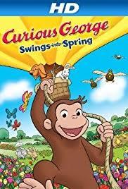 curious george swings spring video 2013 imdb