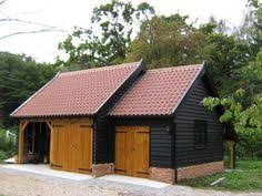 Barn Style Garages Garage Timber Google Search Hok En Carport Pinterest