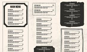restaurant menu vintage restaurant menu package 45 menu design