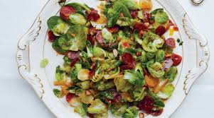 brussel sprouts for thanksgiving brussels sprout leaves with chorizo and toasted almonds the