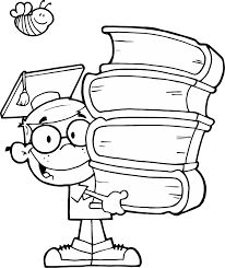 books coloring page funycoloring
