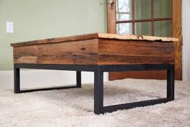 Lift Top Coffee Tables Reclaimed Barn Board Lift Top Coffee Table Wood Metal Via Etsy