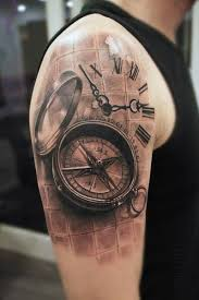 tattoo compass realistic realistic compass tattoo by mumia tattoo