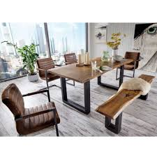 Esszimmer Sofa Esszimmer Sitzgruppe Escoba Mit Baumkante Pharao24 De