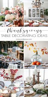 thanksgiving table decorations modern thanksgiving table decorations and ideas maison de pax