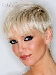 puxie hair of 50 ye old celrbrities celebrity pixie cut super short straight 100 human hair mono top