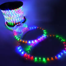 decorative led lights for home 50 100 150 300 led rope lights home in outdoor christmas holiday
