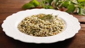 come cucinare l ortica ricetta risotto alle ortiche cucchiaio d argento
