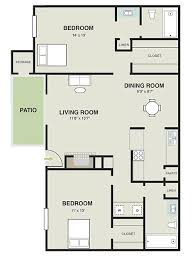 1000 sq ft floor plans 2 bedroom 2 bath 1000 sq ft
