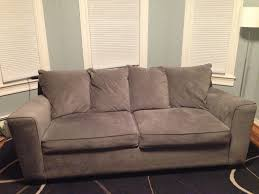 Gray Microfiber Sofa gray microfiber sofa u0026 loveseat new condition in prospect hill