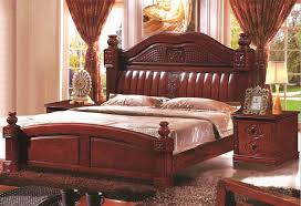 Best Wood Bed Frame Solid Wood Furniture Antique Wood Bed 1 8 Meters With Modern
