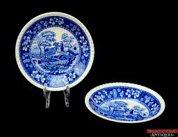 lot of 62 spode copeland tower blue gadroon floral