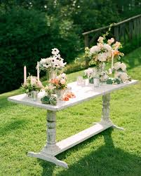 Two Dogs Designs Patio Furniture - a vintage formal outdoor wedding in virginia martha stewart