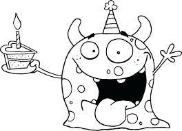 coloring pages for birthdays printables birthday coloring pages free cliptext co