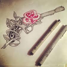 pistol tattoo design ink pinterest tattoo designs guns and