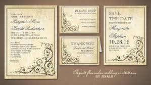 vintage wedding invitation vintage design wedding invitations techllc info
