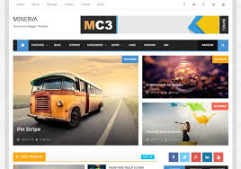 minima colored 3 mag blogger template u2022 blogspot templates 2017