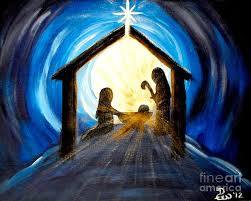 christmas manger christmas manger painting by diane wigstone