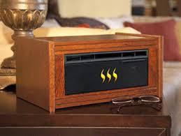 Amish Electric Fireplace Heat Surge Amish Crafted Electric Fireless Fireplace Heater
