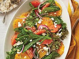 citrus kale salad recipe myrecipes