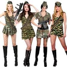Halloween Army Costumes Womens Wartime Officer Army Military Armed Forces 1940s Wwii Womens
