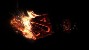 dota 2 logo 3d wallpaper background free downl 10106 wallpaper