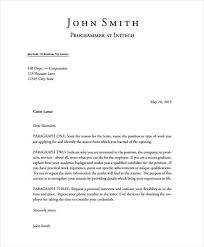 the perfect cover letter template