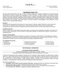 Analyst Resume Template Finance Resume Examples Mba Finance Resume Sample 9 Finance
