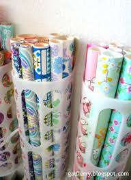 vertical gift wrap organizer best ikea hacks plastic bag dispenser wrapping papers and