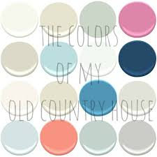 the paint colors of my old country house benjamin moore simply