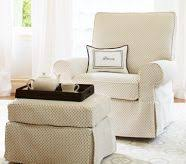 Slipcover For Glider And Ottoman Comfort Square Arm Glider Slipcover Only Premium Performance