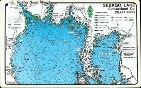 Cumberland Lake Map Sebago Lake Map My Blog