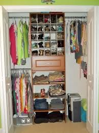 organizing small closet with lots of clothes home design ideas