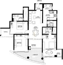 Park Central Floor Plan 1361 Sq Ft 2 Bhk 2t Apartment For Sale In Nitesh Central Park