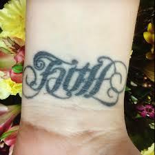 25 beautiful faith wrist tattoos ideas on pinterest cross