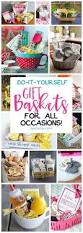 Homemade Gift Ideas by Best 20 Homemade Gift Baskets Ideas On Pinterest Holiday Gift